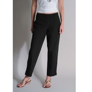 EILEEN FISHER STRETCH TWILL SLIM ANKLE PANT